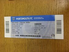 19/04/2014 Ticket: Portsmouth v Bristol Rovers  (folded). Thanks for viewing thi