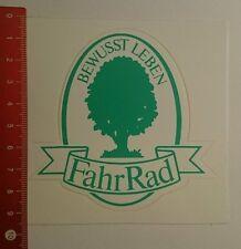 Aufkleber/Sticker: Bewusst Leben FahRad (040916103)