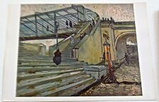 Van Gogh Poster Reprint The Iron Bridge at Trinquetaille Offset Lithograph 16x11