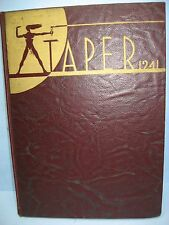 1941 Taper, American International College, Springfield, Massachusetts Yearbook