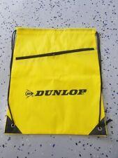 Dunlop Tires Drawstring Bag Backpack Cinch Sack Zipper Gym Tote Sport String