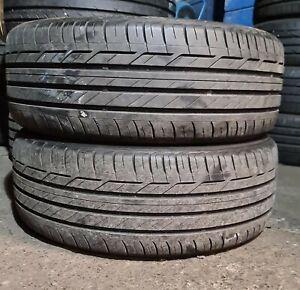 X2 Matching Pair Of 225/45/19 Bridgestone Turanza T001 92W Tyres