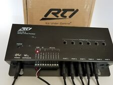 RTI RP-6 RF Home Audio Video Remote Control Processor with Power Supply (S3-D)