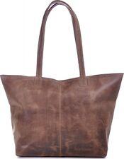 PHIL+SOPHIE Damen Handtaschen Shopper Braun 45x29x15cm (BxHxT)
