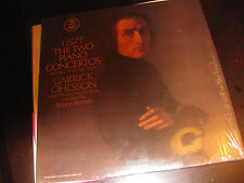 """LISZT """"The Two Piano Piano Concertos"""" Garrick Ohlsson ANGEL on LP"""
