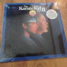 Karate Kid Part II - Soundtrack LP vinyl record sealed NEW RARE