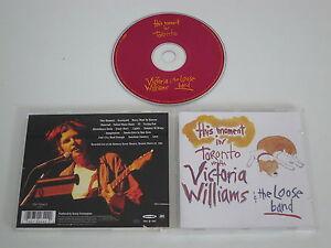 VICTORIA WILLIAMS/THIS MOMENT IN TORONTO(MAMMOTH RECORDS 7567-92642-2) CD ALBUM