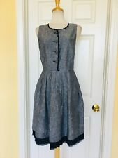 CYNTHIA ROWLEY linen dress size 10