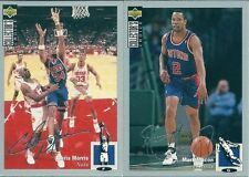 Upper Deck Not Autographed 1994-95 Basketball Trading Cards