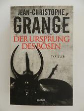 Jean Christophe Grange Der Ursprung des Bösen Thriller Weltbild