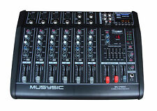Professional 8 Channel 4000W Power Mixer Amplifier 16 DSP USB/ SD PA DJ SYSTEM