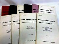 The Spoken Word VOL.6 Lot of 10 Booklets Sermons Religion Cult Branham Prophet