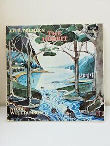 J.R.R. Tolkien, Nicol Williamson - The Hobbit - 4 x Vinyl LP Box Set - Decca