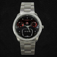 Dodge Charger SRT Hellcat Custom Dashboard Steering Wheel Stainless Steel Watch