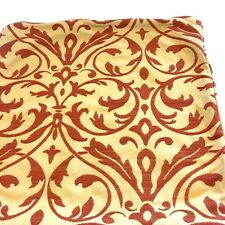 "FRONTGATE 20""  Pillow Cover Two Tone Gold Damask Design Previously Owned"
