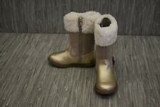 Carters Tampico boot Toddler Girls size 9 Gold