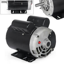 New 3hp 1 Phase 3450 Rpm Electric Motor Air Compressor 56 Frame 58 Shaft