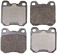 Disc Brake Pad Set-Convertible Rear Monroe CX709