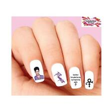Waterslide Nail Decals Set of 20 - Prince Purple Dearly Beloved Assorted