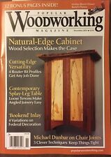 Popular Woodworking Magazine Natural Edge Cabinet Inlay Nov 2014 FREE SHIPPING!
