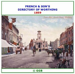 FRENCH & SONS DIRECTORY OF WORTHING 1859 CD ROM