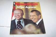 10/22/1973 NEWSWEEK magazine NIXON FORD - UNREAD