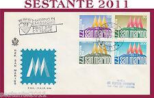 SAN MARINO FDC FAIP F.A.I.P. 234 ESPOSIZIONE INTERNAZIONALE 77 '77 1977 (322)
