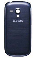 ORIGINALE Samsung Galaxy S3 Mini i8190 BATTERIA COVER POSTERIORE CASE BLU ORIGINALE