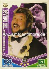"""Slam Attax #167 """"the millón de dólares Man"""" Ted DiBiase"""