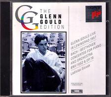 Glenn Gould live a Leningrado Bach Piano Concerto No. 1 Beethoven N. 2 Slovak CD
