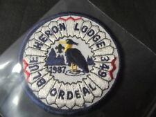 Blue Heron 349 1987 Ordeal Patch eR1987-2   mc19