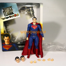 "DC Superman Justice League Batman vs Superman 6"" Action Figure Medicom Mafex New"