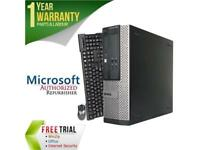 DELL Desktop Computer OptiPlex 390 Intel Core i5 2400 (3.10 GHz) 8 GB DDR3 2 TB