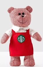 Starbucks Coffee Holiday Bearista Bear Barista Red Apron MOTHER'S DAY GIFT!!!