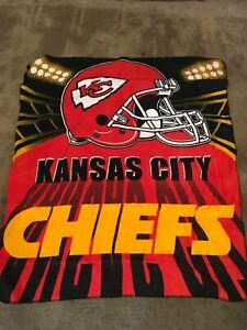 Kansas City Chiefs Fleece Throw Blanket - 50 x 60