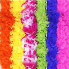 Quality Feather Boa 20s Flapper Burlesque Fancy Dress Hen Stag Party Accessory