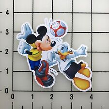 "Mickey Mouse Donald Duck 4"" Wide Vinyl Decal Sticker BOGO"
