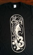 "BAD LUCK ""WING 13"" MEN'S BLACK T-SHIRT SIZE SMALL *NEW *SKATE *ROCK *PUNK"