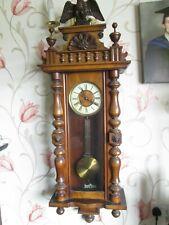Large Vienna Wall Clock (Around 1880) Christmas Gift!!