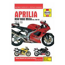 Haynes Workshop Manual / Guide Book / Service/Repair For Aprilia RSV1000 Mille