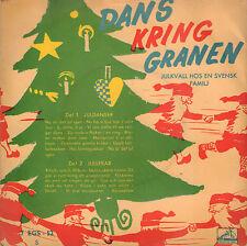 "UNKNOWN ARTISTS – Dans Kring Granen (1957 CHRISTMAS VINYL EP 7"" SWEDEN)"