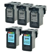 3PK 240XL 2PK 241XL Ink for Canon PIXMA MX472 MG3220 MG2120 MG2220 MG3120 MX439