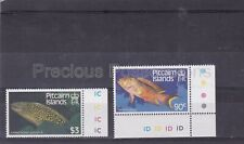More details for pitcairn islands mnh stamps 1984 fishes sg 312w-314w wmk inv