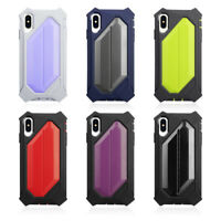 Bumper Shockproof TPU+PC Protective Cover For iPhone Case XR 8 7 6 Plus XS Max