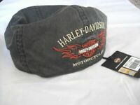 Harley Davidson Flame Grafik Yvi Bar & Shield Cap Kappe Mütze 99537-11VM