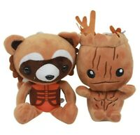 2 Plüsch Figuren Marvel Avengers Guardians of Thrones Galaxy Groot und Rocket