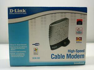D-Link DCM202 DOCSIS 2.0 Ethernet High Speed Cable Modem BCM-202