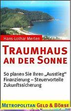 Traumhaus an der Sonne von Hans-Lothar Merten | Buch | Zustand gut