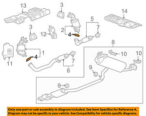 GM OEM Exhaust-Front Pipe Gasket 84135650