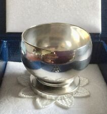 More details for ❇️georg jensen sterling silver pyramid egg cup🐣#585 by harald nielsen